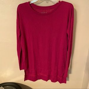 EUC Loft Tunic Style Relaxed Fit Top